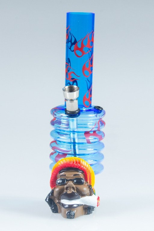 BONGO AKRYLOWE RASTA BOB FIRE BAND BLUE-RED