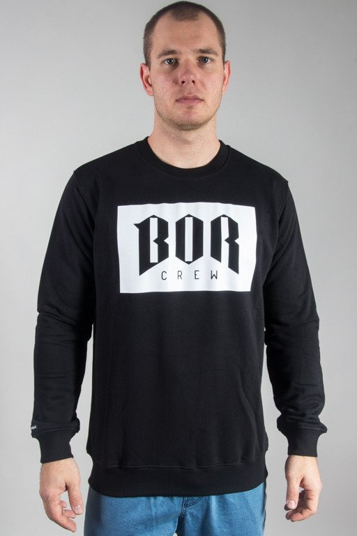 BOR CREWNECK BOR NEW BLACK