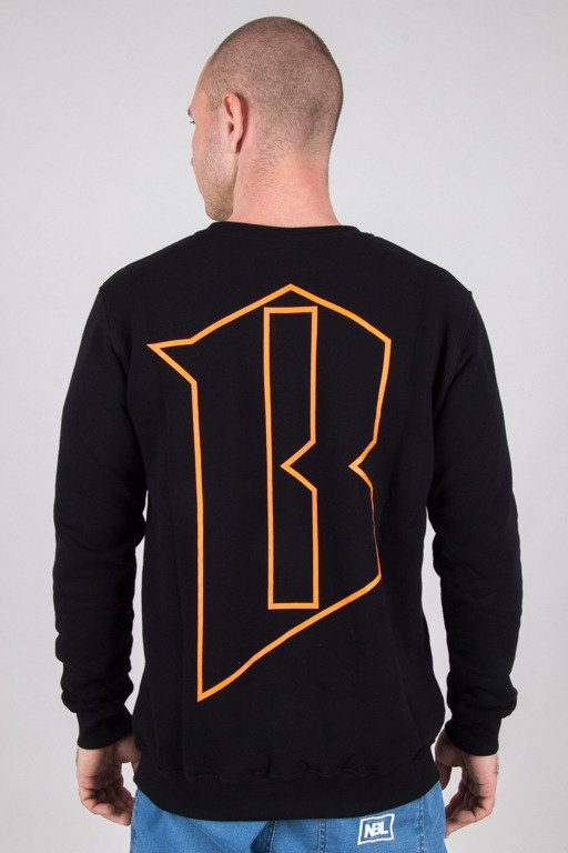 BOR CREWNECK BORCREW BLACK