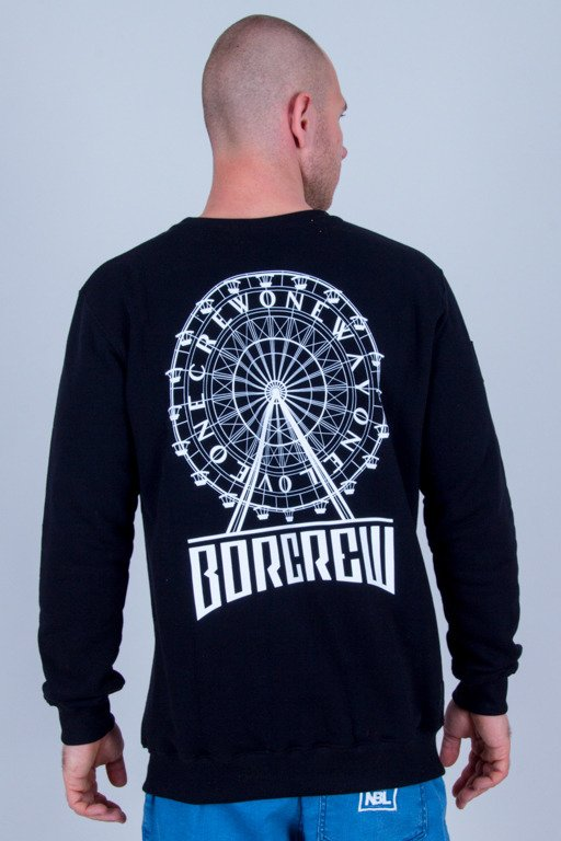 BOR CREWNECK CIRCLE BLACK