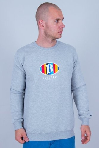 BOR CREWNECK COLORS MELANGE