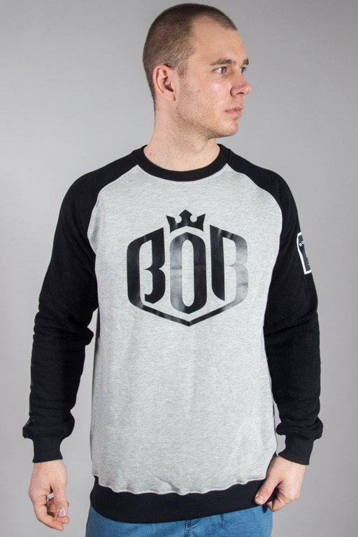 BOR CREWNECK HERB GREY
