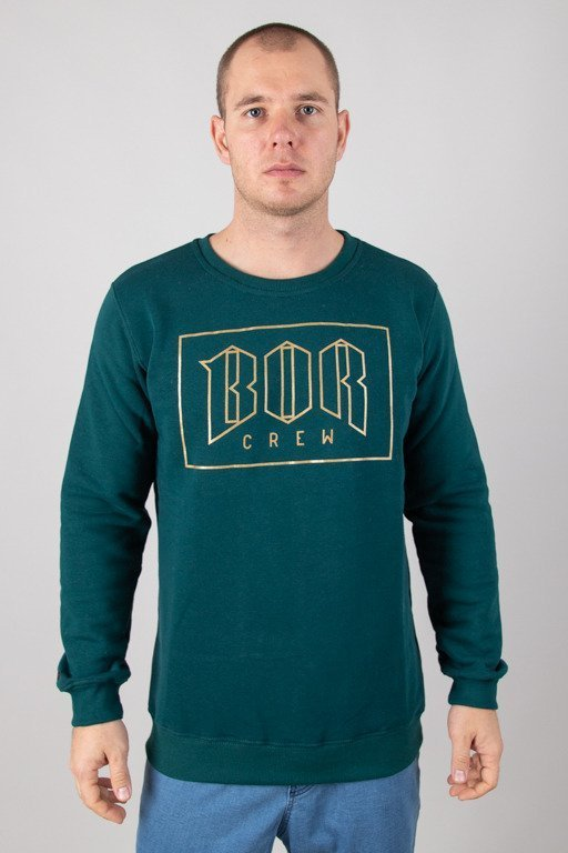 BOR CREWNECK NEW OUTLINE GREEN