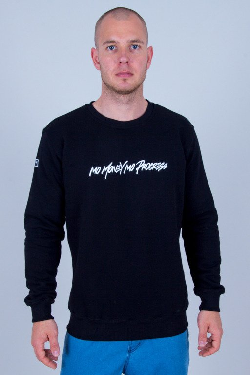 BOR CREWNECK PROGRESS BLACK