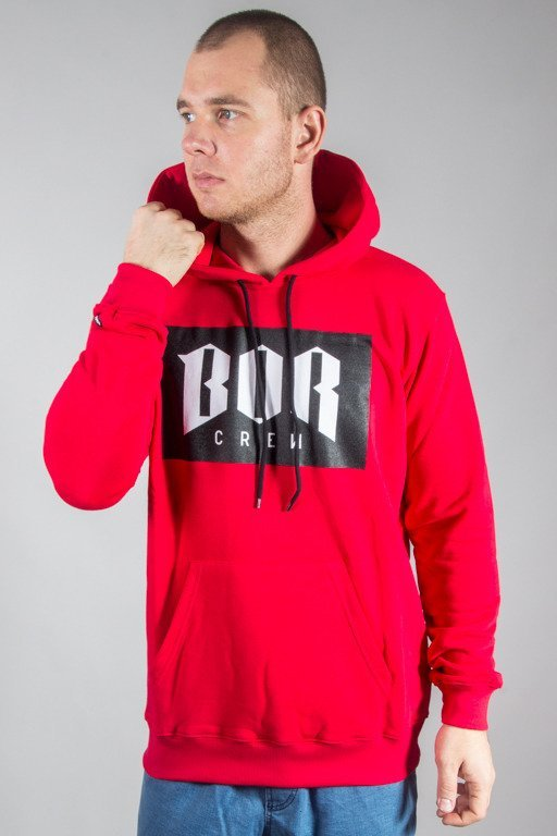 BOR HOODIE BOR NEW RED