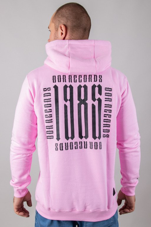 BOR HOODIE RECORDS PINK