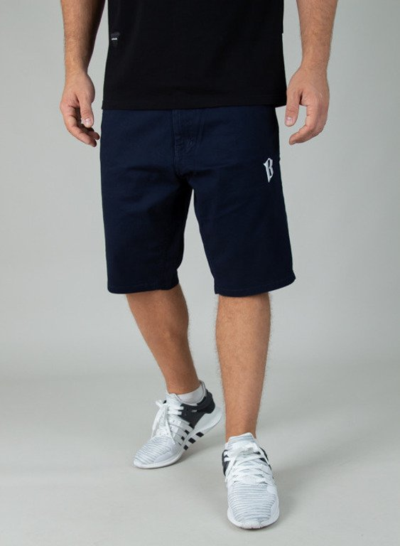 BOR SHORTS CHINO CLASSIC BORCREW NAVY