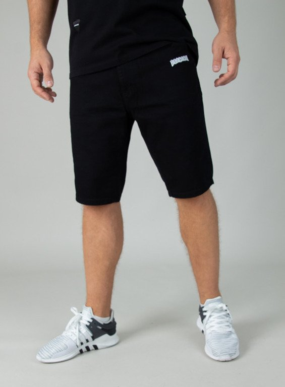 BOR SHORTS JEANS BORCREW BLACK
