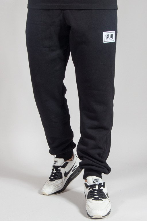 BOR SWEATPANTS BORCREW BLACK
