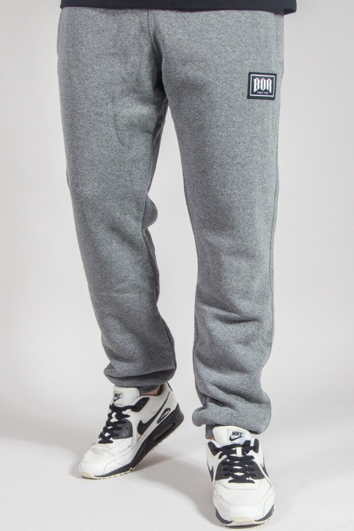 BOR SWEATPANTS BORCREW GREY