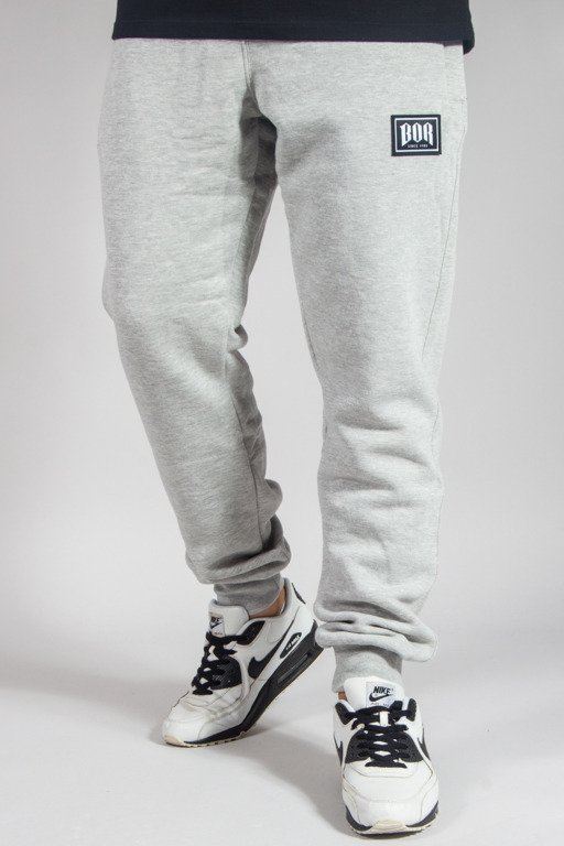 BOR SWEATPANTS BORCREW MELANGE