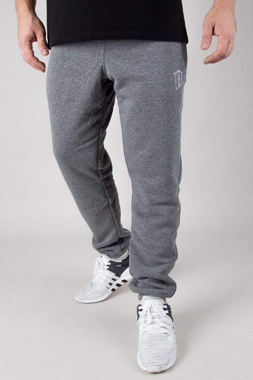 BOR SWEATPANTS BORCREW OUTLINE GREY