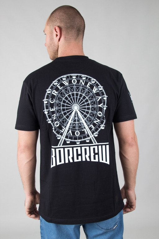 BOR T-SHIRT CIRCLE BLACK