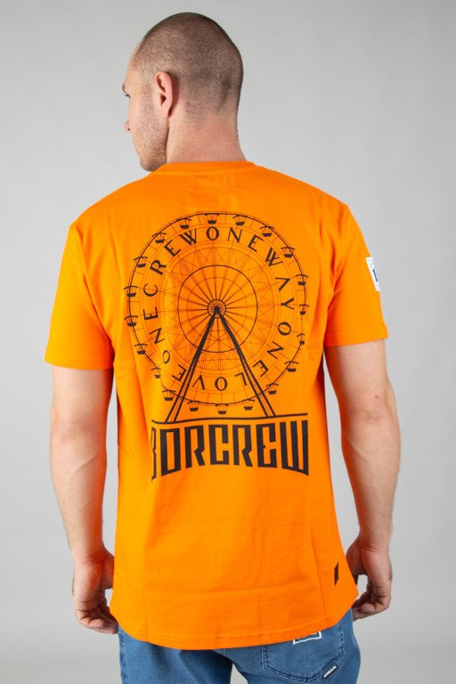 BOR T-SHIRT CIRCLE ORANGE