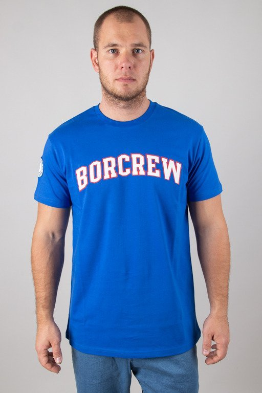 BOR T-SHIRT COLLEGE NAVY