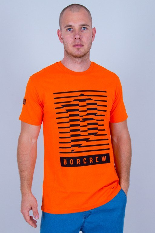 BOR T-SHIRT LINES ORANGE