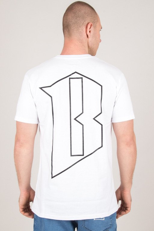 BOR T-SHIRT NEW BORCREW WHITE