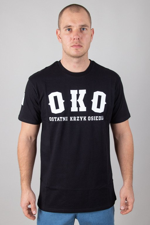 BOR T-SHIRT OKO BLACK