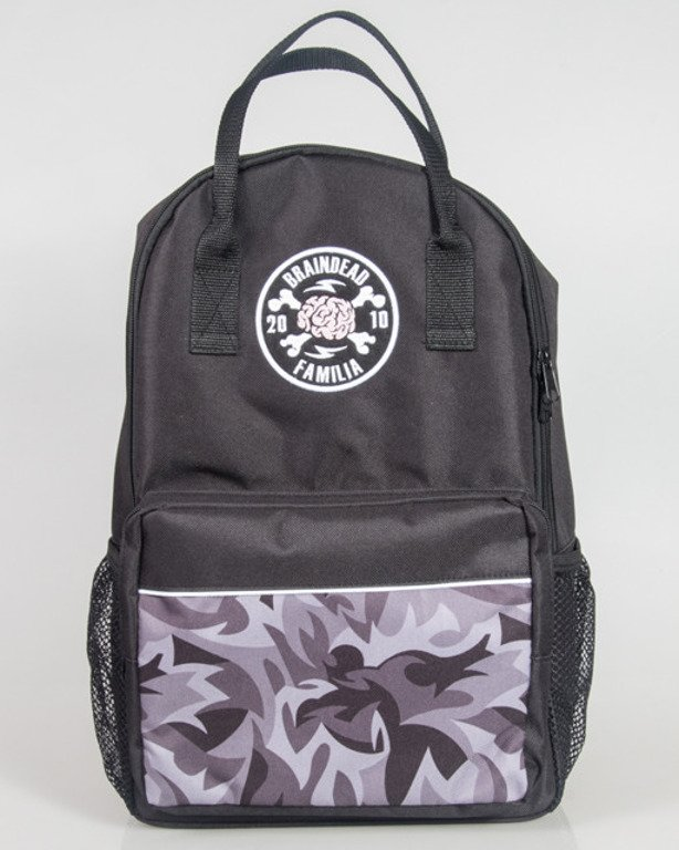 BRAIN DEAD FAMILIA BACKPACK BDF BLACK