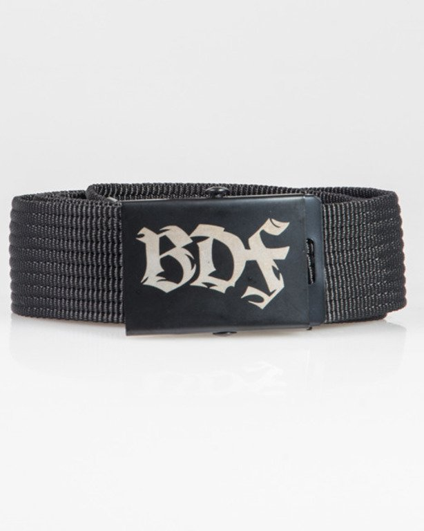 BRAIN DEAD FAMILIA BELT BDF BLACK
