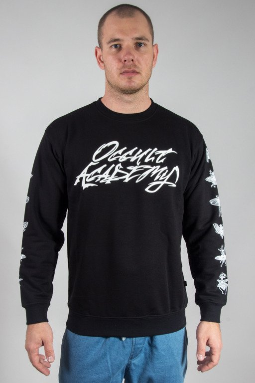 BRAIN DEAD FAMILIA CREWNECK OCCULT BLACK