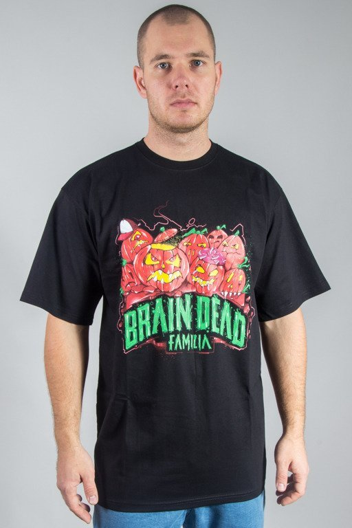 BRAIN DEAD FAMILIA T-SHIRT HALLOWEEN BLACK
