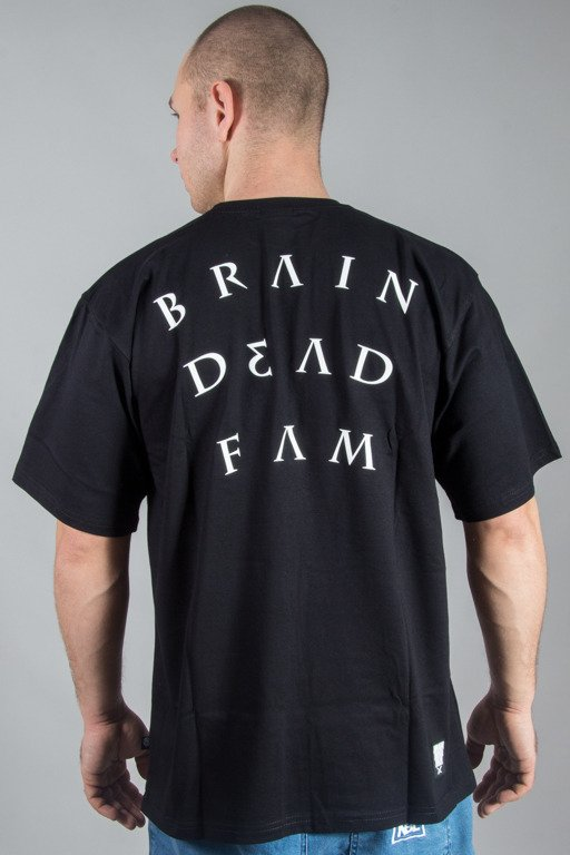 BRAIN DEAD FAMILIA T-SHIRT NOTE BLACK