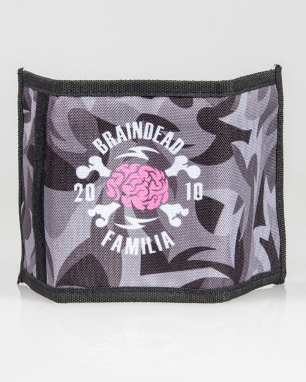 BRAIN DEAD FAMILIA WALLET BDF BLACK