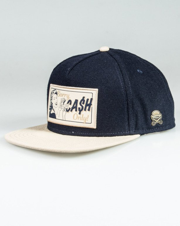 CAYLER & SONS CAP CASH ONLY NAVY