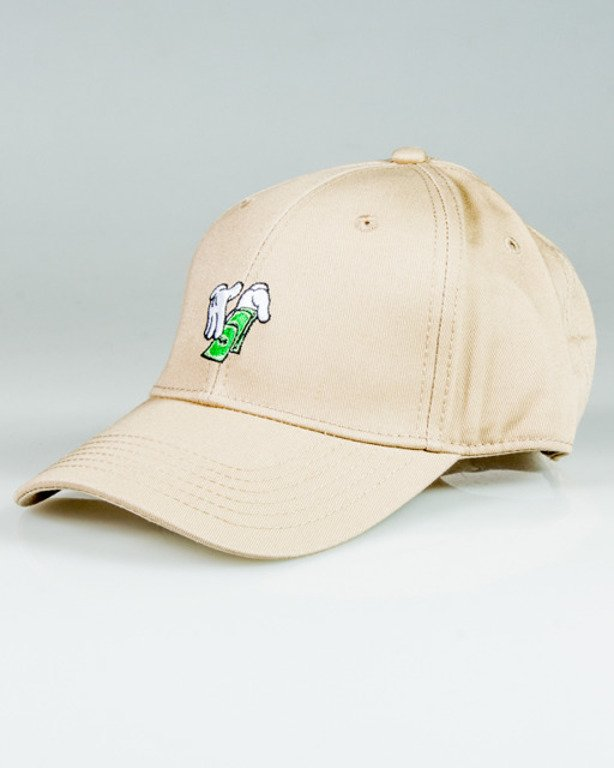CAYLER & SONS CAP MAKE IT RAIN BEIGE