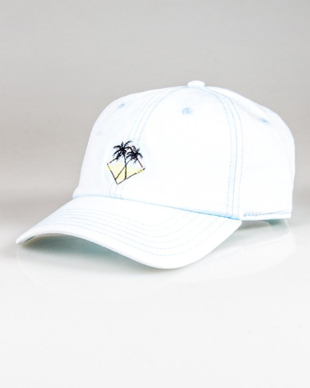 CAYLER & SONS CAP VIBIN\' CURVED LIGHT BLUE