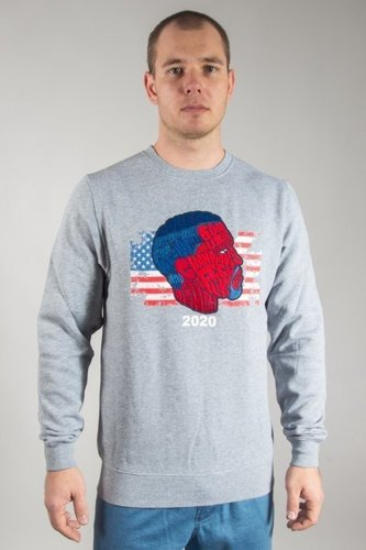 CAYLER & SONS CREWNECK LIFE OF GREY