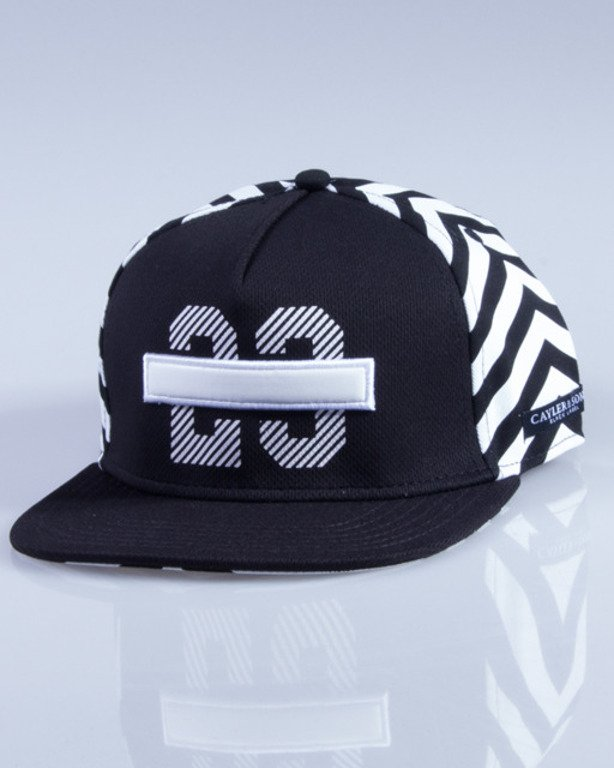 CAYLER & SONS CZAPKA SNAPBACK LEGEND BLACK-WHITE