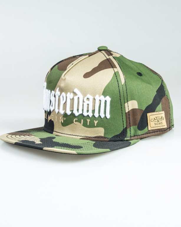 CAYLER & SONS SNPABACK AMSTERDAM CAMO