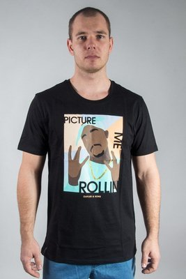 CAYLER & SONS T-SHIRT ME ROLLIN BLACK