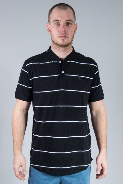 CROOKS&CASTLES KOSZULKA POLO FIELD BLACK