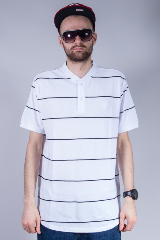 CROOKS&CASTLES KOSZULKA POLO FIELD WHITE