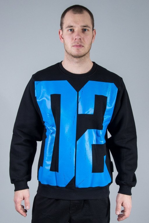 DEMONOLOGIA BLUZA BEZ KAPTURA D2 BLACK-BLUE