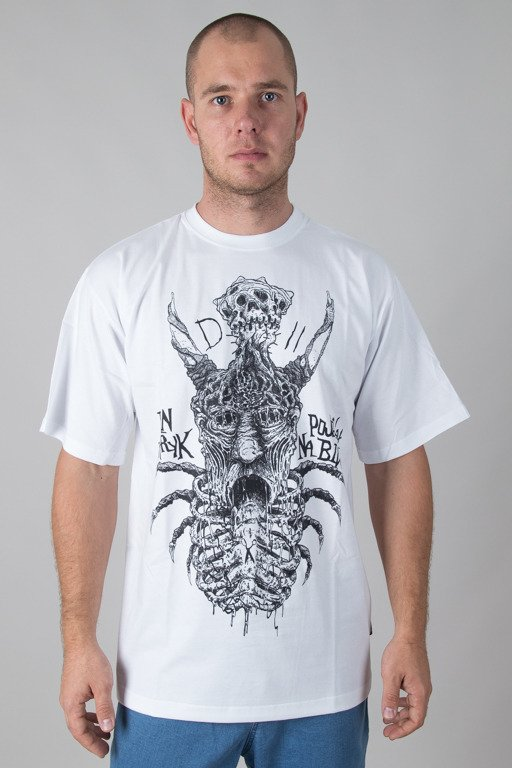 DEMONOLOGIA T-SHIRT PAN PATRYK WHITE