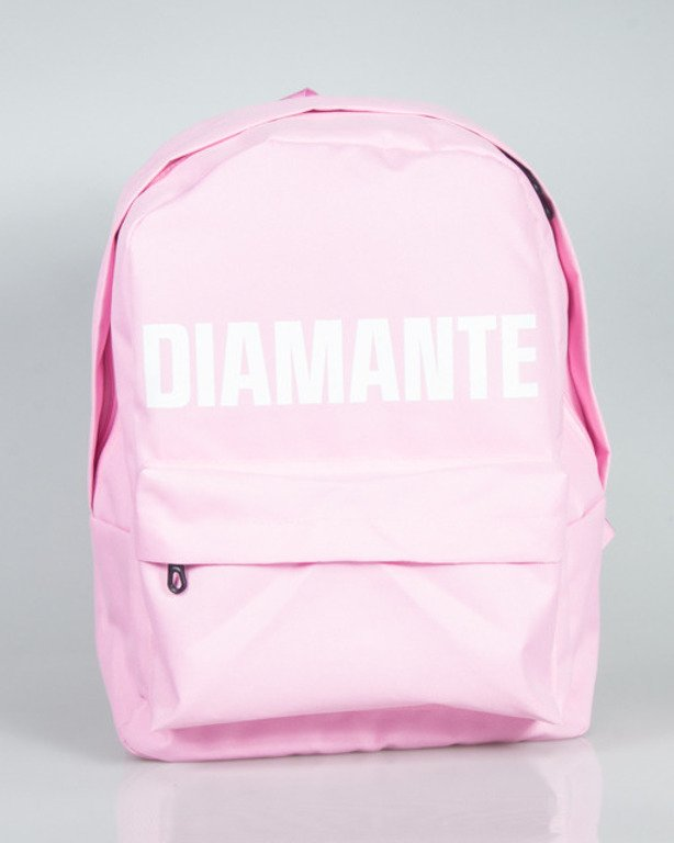 DIAMANTE WEAR BACKPACK 01 PINK