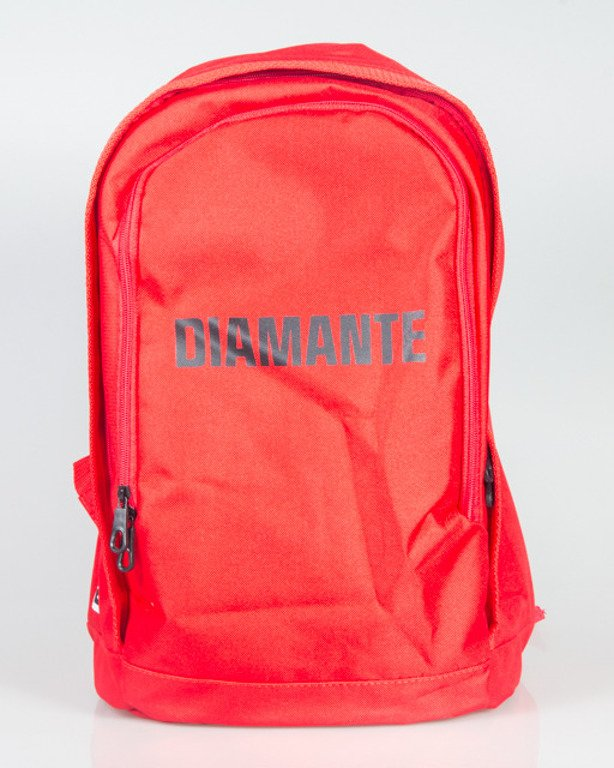 DIAMANTE WEAR BACKPACK 02 RED-BLACK