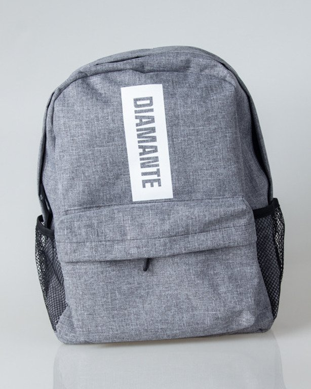 DIAMANTE WEAR BACKPACK BOXLOGO GREY JEANS