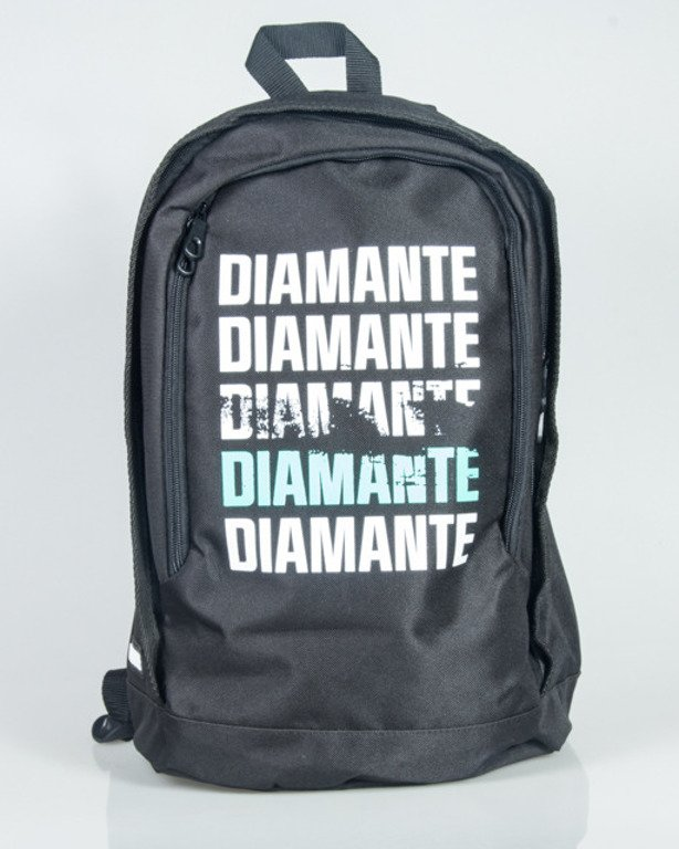 DIAMANTE WEAR BACKPACK SMALL LOGO BLACK
