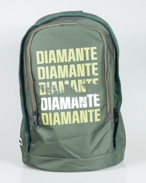 DIAMANTE WEAR BACKPACK SMALL LOGO OLIVE