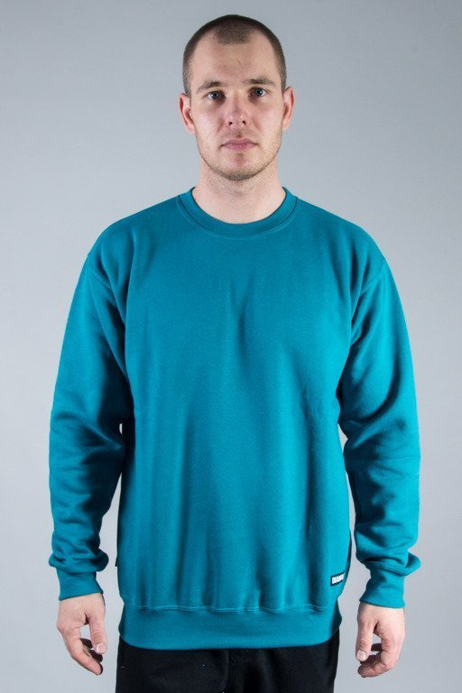 DIAMANTE WEAR CREWNECK BASIC EMERALD