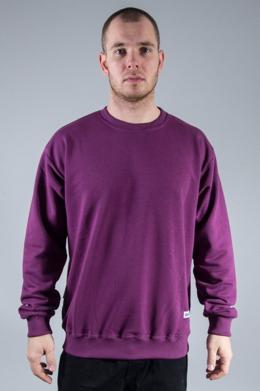 DIAMANTE WEAR CREWNECK BASIC VIOLET