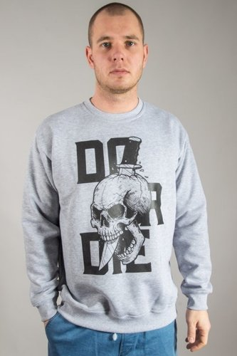 DIAMANTE WEAR CREWNECK DO OR DIE MELANGE