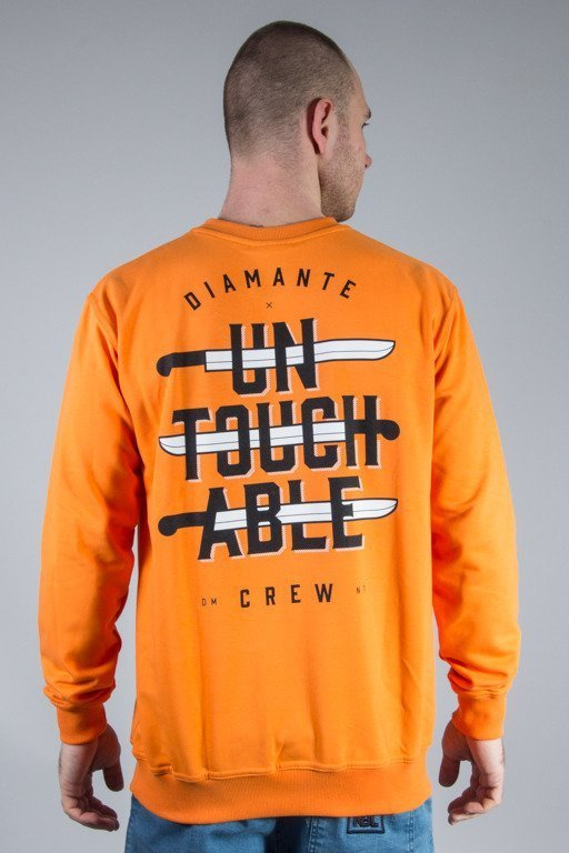 DIAMANTE WEAR CREWNECK UNTOUCHABLE ORANGE