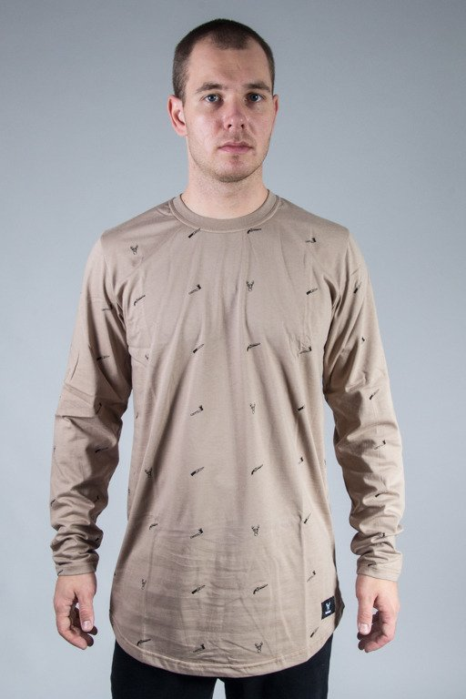 DIAMANTE WEAR LONGSLEEVE HUNTING BEIGE