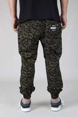 DIAMANTE WEAR PANTS CHINO JOGGER FLIGHT SCHOOL YELLOW CAMO